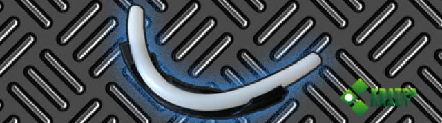 Фиксатор изгиба для пластиковых труб